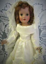 Beautiful Bride Unmarked Sweet Sue 18 Inch