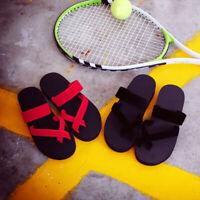 Women New Flops Size Summer Shoes Casual Toe Black Sandals Open Beach 2017 Flat