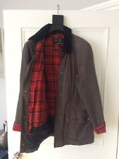 Pesi mosca Beadnell BARBOUR CERA GIACCA DONNA TG UK 10 (Marrone)