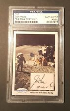 1990 Jim Irwin Apollo 15 Space Shots Ventures Signed PSA/DNA AUTHENTIC AUTO