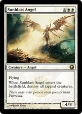 SUNBLAST ANGEL Scars of Mirrodin MTG White Creature — Angel RARE