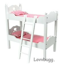 """White Bunk Bed Furniture for 18"""" American Girl n Bitty Baby Doll Lovvbugg Found"""