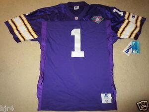 Minnesota Vikings 1994 NFL 75th Anniversary Starter Jersey 48 XL NEW Nwt