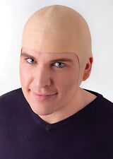 Unisex Deluxe Men Bald Head Skinhead Cap Fake Funny Fancy Dress Accessory MD143