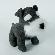 Cute Dog Door Stopper Fabric Door Stop Schnauzer Home Decor
