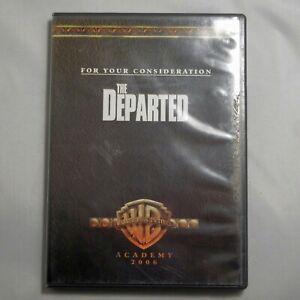 The Departed (DVD, 2007) Leonardo Dicaprio Martin Sheen For Your Consideration