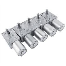 12V Reduction Motor Worm Reversible High Torque Turbo Geared Motors 2-100RPM *US