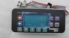 Sundance Jacuzzi Spas Topside Panel: 850 CONTROL 2 Pump - Part no. 6600-803