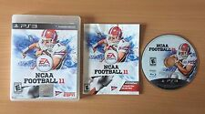 EA NCAA College Football 11 2011 -- Playstation 3 PS3 -- Complete -- Fast Post