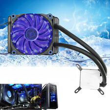 120t 240K Liquid Radiator  Water Liquid Cool System CPU Cooler Fan For Intel/AMD