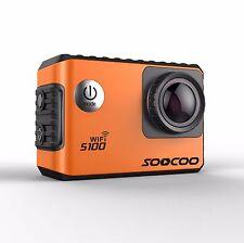"SOOCOO S100 Sports Action Camera 2.0"" Wifi 4K 24fps Built-in Gyro 30M Waterproof"