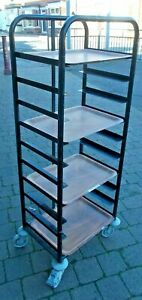 10 Tier Catering Tray Carrier on Wheels with brakes  Buyer to collect