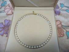 Natural Fresh Water Pearl Necklace from famous Tai Hu Lake in Wuxi, China