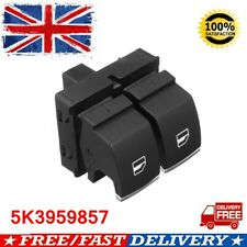 FOR VW GOLF MK6 09-12 ABS FRONT DRIVERS RIGHT WINDOW SWITCH PACK 2 DOOR