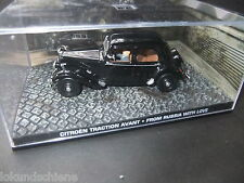Citroen Traction Avant   . 007 James Bond 1:43 .. #040 Liebesgrüsse aus Moskau