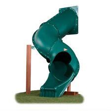 Túnel / Tubo Espiral Twisty Slide Ideal Para 1.5m Plataforma, Parque Infantil