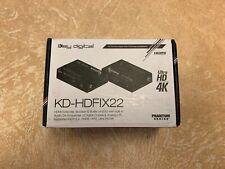 Key Digital KD-HDFIX22 HDMI Extender/Booster/Buffer EDID Audio De-Embedder