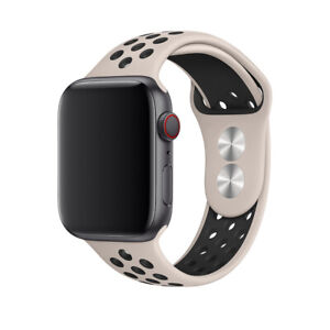 40/44/38/42mm Silicone Sports iWatch Band Strap for Apple Watch Series 6 5 4 3 2