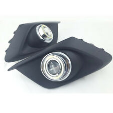 COB Angel Eye Rings Fog lights Projector Lens for Mazda 3 Axela 2014