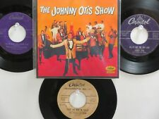 LOT OF 4 ' THE JOHNNY OTIS SHOW ' HIT 45's+1P(Copy)[Bye Bye Baby]  THE 50's!