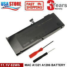 "Battery For Apple MacBook Pro 15"" A1286 661-5211 Mid 2009 Early/Late 2010 A1321"