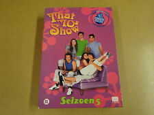 4-DVD BOX / THAT '70s SHOW - SEIZOEN 5