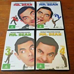 Mr Bean Volume 1 - 4 DVD R4 Like New! FREE POST