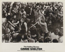 GIMME SHELTER - THE ROLLNG STONES HELLS ANGELS ORIGINAL 1971 RELEASE!