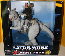 Star Wars 1997 Han Solo and TaunTaun MIB POTF never opened sealed