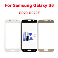 For Samsung Galaxy S6 Front Outer Lens Glass Touch Screen Replacement + Tool