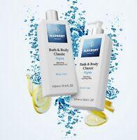 MARBERT Body Care Bath & Body Classic Aqua Refreshing Soft Body Milk & Duschgel