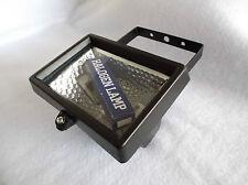 ALOGENA inondazione di luce C / W Lampada IP44 nominale 150 WATT MAX versione ridotta in Nero