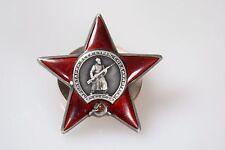 UdSSR Original Orden Russland Roterstern Silber