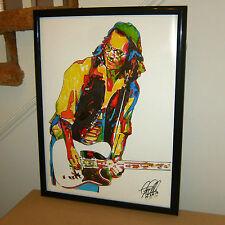 Johnny Depp, Guitar, Guitarist, Musician, Actor, Producer, 18x24 POSTER w/COA