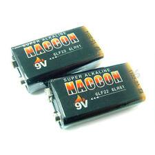 2 New RoHs 6Lf22 9V Pp3 Alkaline Battery Single Use