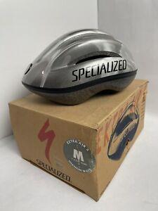 Vtg Specialized Extra Air 2 Titanium Wave M 7-1/4 US 58 Euro Bicycle Helmet