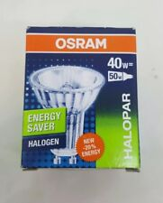 Osram GU10 40W Halogen Light Bulb HALOPAR ALU ES energy Saver 30 Degree Flood