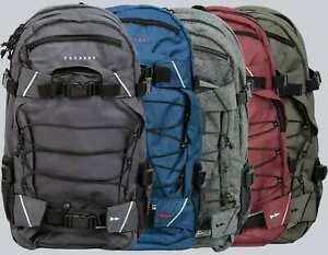 Forvert Rucksack/Backpack Laptop Louis,grau, schwarz, rotbraun, oliv, FlanelGrey