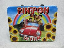 PIN-PON LE FILM  French Canada Movie Promo  METAL LUNCHBOX  VW Beetle