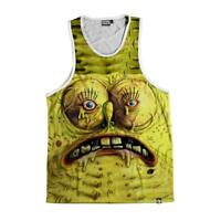 1fa03444e74 NEW Beloved Shirts UGLY SPONGEBOB Tank Top SMALL-2XLARGE CUSTOM MADE IN THE  USA