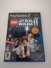 Playstation 2 Spiele Lego Star Wars II Die Original Trilogie Familie Spaß Free p&p