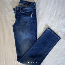 Ladies 7 For All Mankind Jeans roxanne Blue  Denim  Size 26