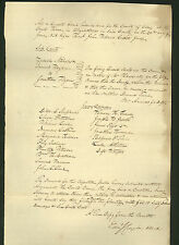 signed 1838 New York Circuit Court document - Saratoga County Judge John Willard