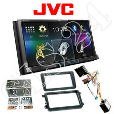 JVC double 2-din DVD Bluetooth Radio VW Amarok Caddy CC EOS + CAN-BUS Interface