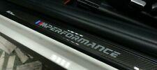 BMW OEM F20 F21 F22 F23 F87 M Performance Carbon Fiber Door Sill Pair Brand New