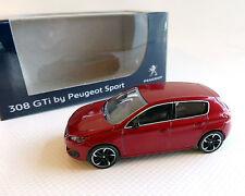 PEUGEOT 308 GTI , rojo-metálico, norev , 1:64
