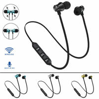 Wireless Magnet Bluetooth 4.2 Stereo Earphone Earbuds Sport Headphone Headset