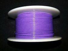"""20 AWG Cable Calibre sólido gancho Violeta 100 ft 0.0320/"""" UL1007 300 voltios"""