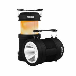 NEBO Big Poppy Camping Lantern - Rechargeable 4-in-1 Lantern & USB Power Bank