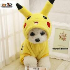 Adorably Cute Pikachu Pet Costume/Hoodie/Coat/Pajam as